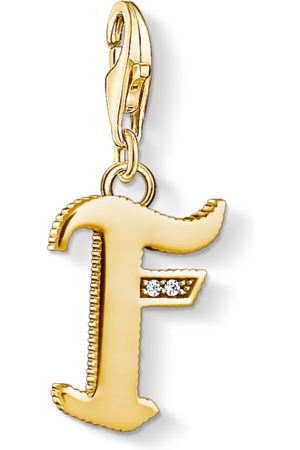 Thomas Sabo Charm pendant letter F coloured 1612-414-39