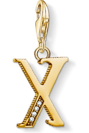 Thomas Sabo Charm pendant letter X coloured 1630-414-39