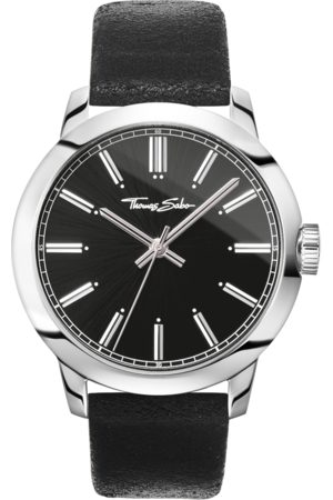 Thomas Sabo Men's watch Rebel at heart Men black WA0312-203-203-46 MM
