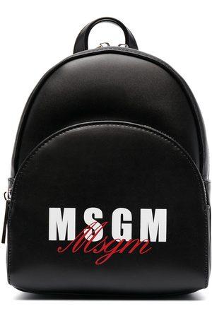 Msgm Logo-print backpack