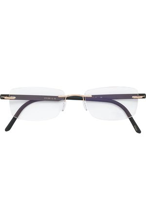 Silhouette Atelier Collection gold plated glasses