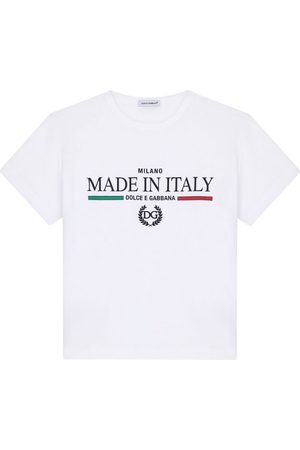Dolce & Gabbana Kids Slogan T-Shirt (2-6 Years)