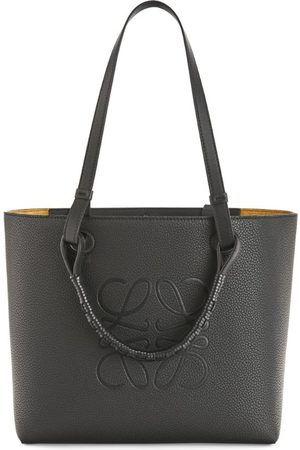 Loewe Women Handbags - Small Leather Anagram Tote Bag