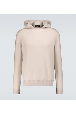 Loro Piana Cashmere-silk hooded sweater