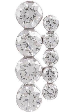 Maria Tash Aspara Bar 18kt white gold earring with diamonds