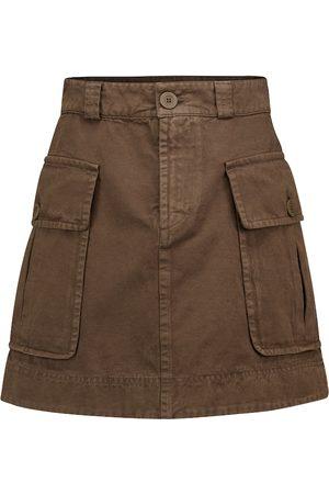 Chloé Cotton twill miniskirt