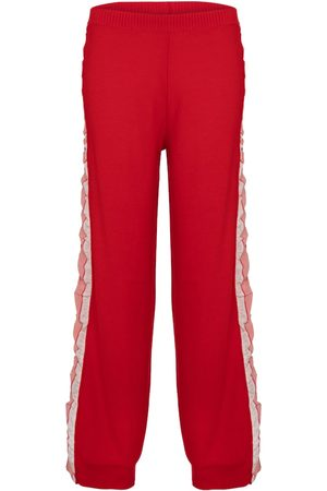 Stella McCartney Wool and silk pants