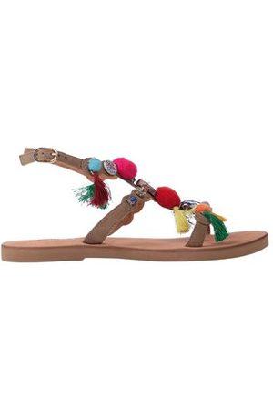 Coral Blue FOOTWEAR - Sandals