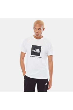 The North Face Men T-shirts - Men's Raglan Redbox T-Shirt