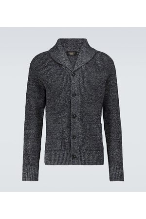 RRL Cotton and linen shawl cardigan