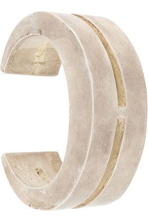 PARTS OF FOUR Crescent Crevice bracelet - Metallic