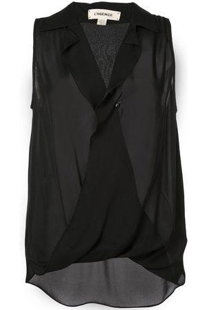 L'Agence Wrap front vest