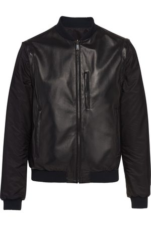 Prada Nappa leather bomber jacket