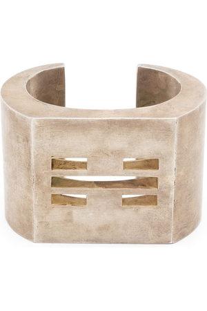 PARTS OF FOUR Crescent cut-out bracelet - Metallic