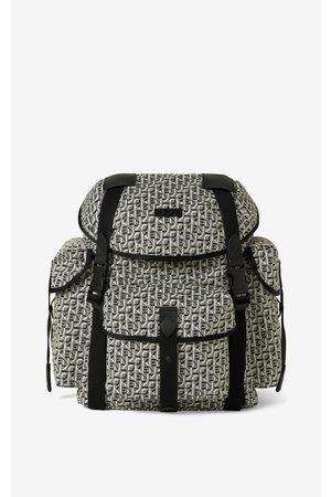 Kenzo Trek jacquard rucksack with flap