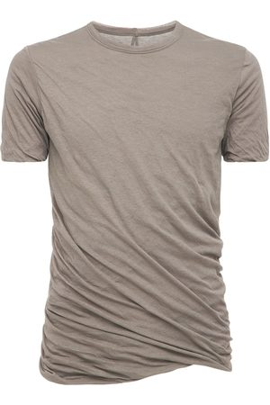 Rick Owens Twist Long Double Cotton Jersey T-shirt
