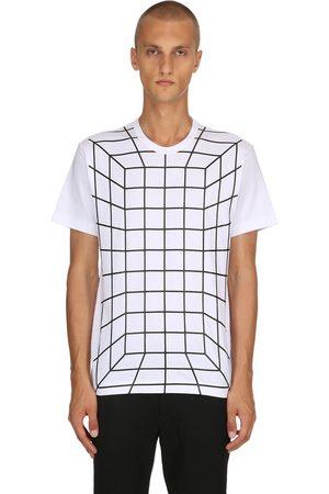 Comme des Garçons Graphic Printed Cotton Jersey T-shirt