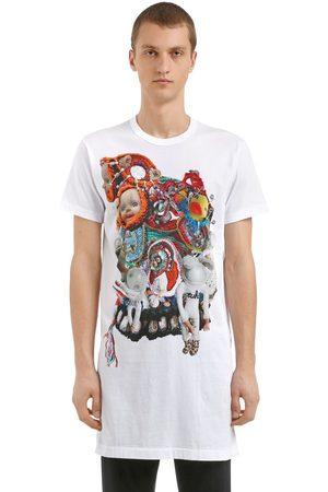 Comme des Garçons Dolls Printed Long Cotton Jersey T-shirt