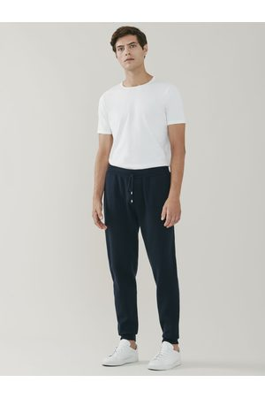 MrQuintessential Squaw Cashmere and Merino Sweatpants - Navy