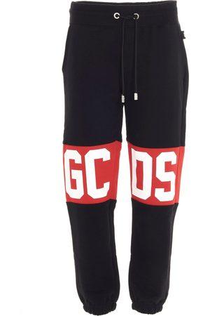 GCDS MEN'S CC94M03100502 COTTON JOGGERS