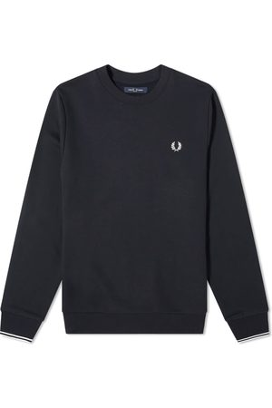 Fred Perry Authentic Crew Sweat Navy