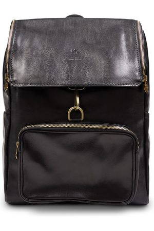 Burrows and Hare Leather Backpack