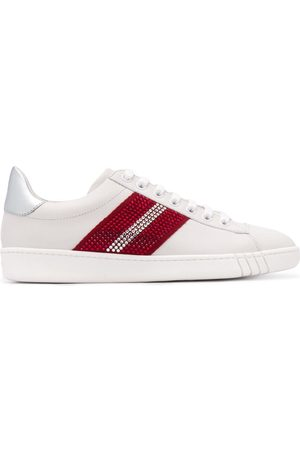 Bally WOMEN'S 6234773WHITETSP LEATHER SNEAKERS