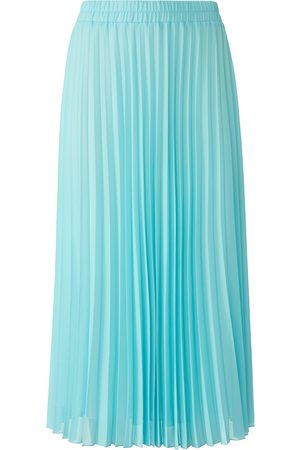 Peter Hahn Pleated skirt lining turquoise size: 10s
