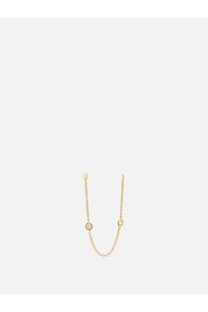 Maria Tash Diamond & 18kt Chain-link Single Earring - Womens