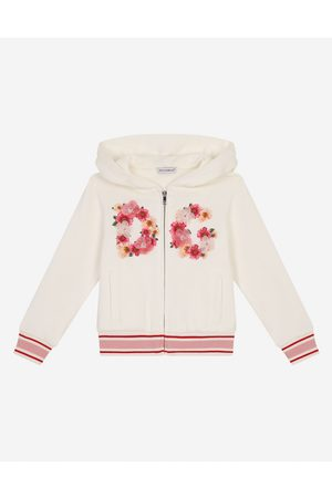 Dolce & Gabbana Knitwear and Sweatshirts - JERSEY HOODIE WITH FLORAL PRINT female 2