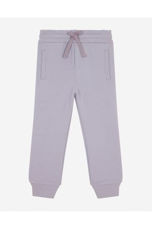 Dolce & Gabbana Boys Trousers - Trousers and Shorts - JERSEY JOGGING PANTS WITH LOGO TAG male 2