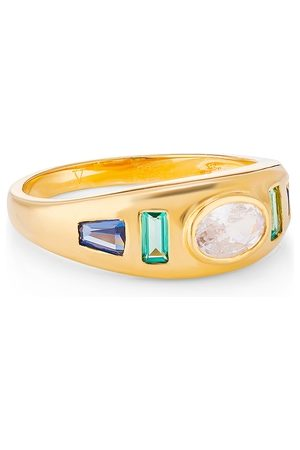 V by Laura Vann Women Rings - Sara Gypsy 18kt -plated Ring