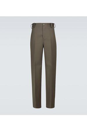 Bottega Veneta Men Trousers - Wool gabardine pants