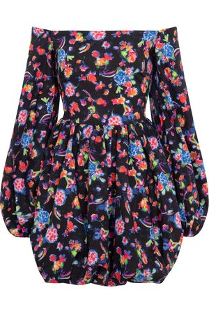 Caroline Constas Georgina floral cotton minidress