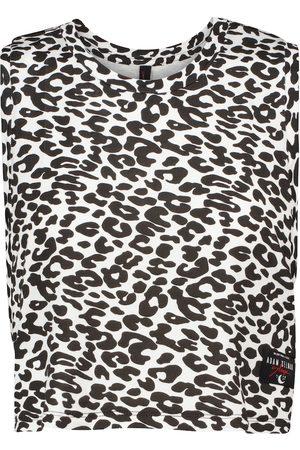 Adam Selman Sport Women Tops - Sleep leopard printed top