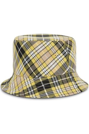Burberry Vintage-Check reversible bucket hat - Neutrals