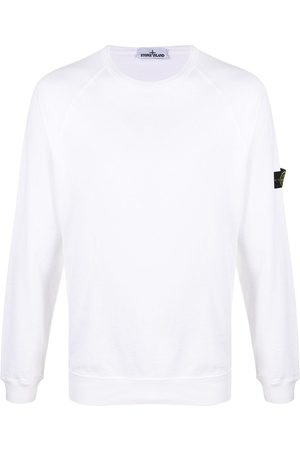 Stone Island Logo-patch long-sleeve T-shirt