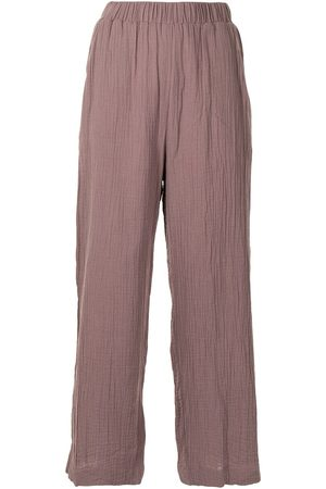 0711 Pattern-effect culotte trousers