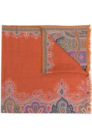 ETRO Paisley cashmere silk-blend scarf