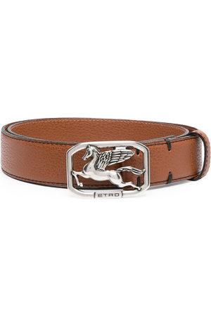 ETRO Pegasus buckle belt - 150