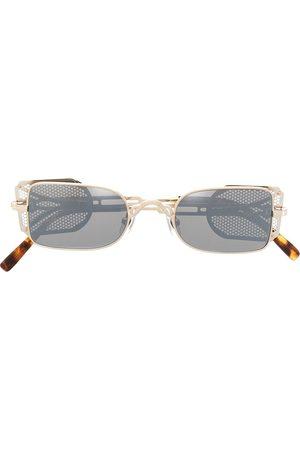 MATSUDA 10611H rounded-frame sunglasses - BRUSHED / BRUSHED