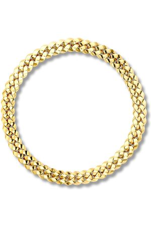 Pragnell 18kt gold Cuba small chain necklace