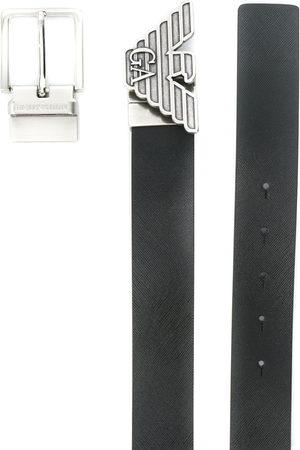 Emporio Armani Men Belts - Logo buckle belt