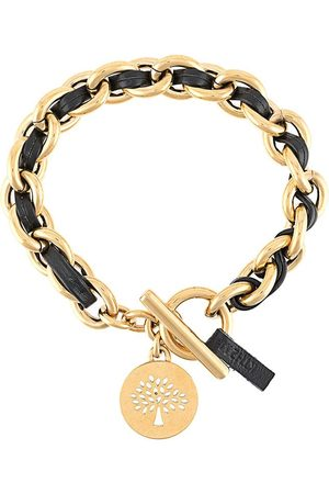 MULBERRY Medallion leather chain bracelet