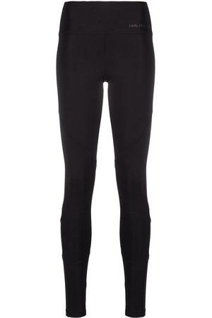 Karl Lagerfeld High-waist performance leggings