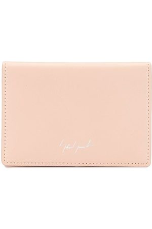 Discord Yohji Yamamoto Women Purses & Wallets - Embroidered logo bifold wallet