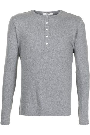 ADAM LIPPES Long-sleeved cotton T-shirt