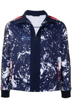 Ports V Summer Jackets - Printed zip-up track jacket