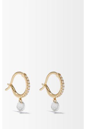 Raphaele Canot Set Free Diamond & Hoop Earrings - Womens