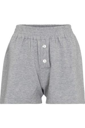 LIVE THE PROCESS Women Shorts - Cashmere-blend shorts